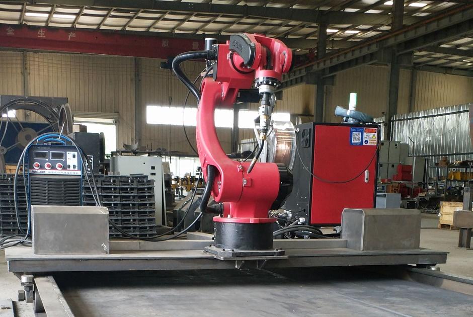 七轴盖梁骨架片焊接机器人
